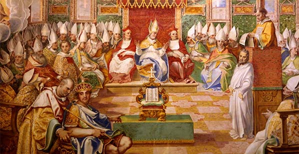 nicene councilby Fresco in Capella Sistina, Vatican
