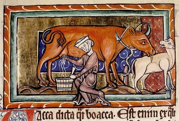 serf milking