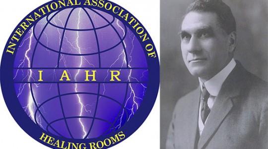 Healing rooms logo