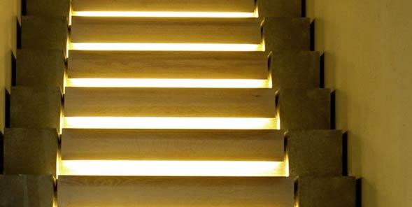 a stair case