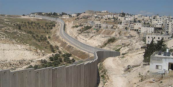 dividing wall in Palestine